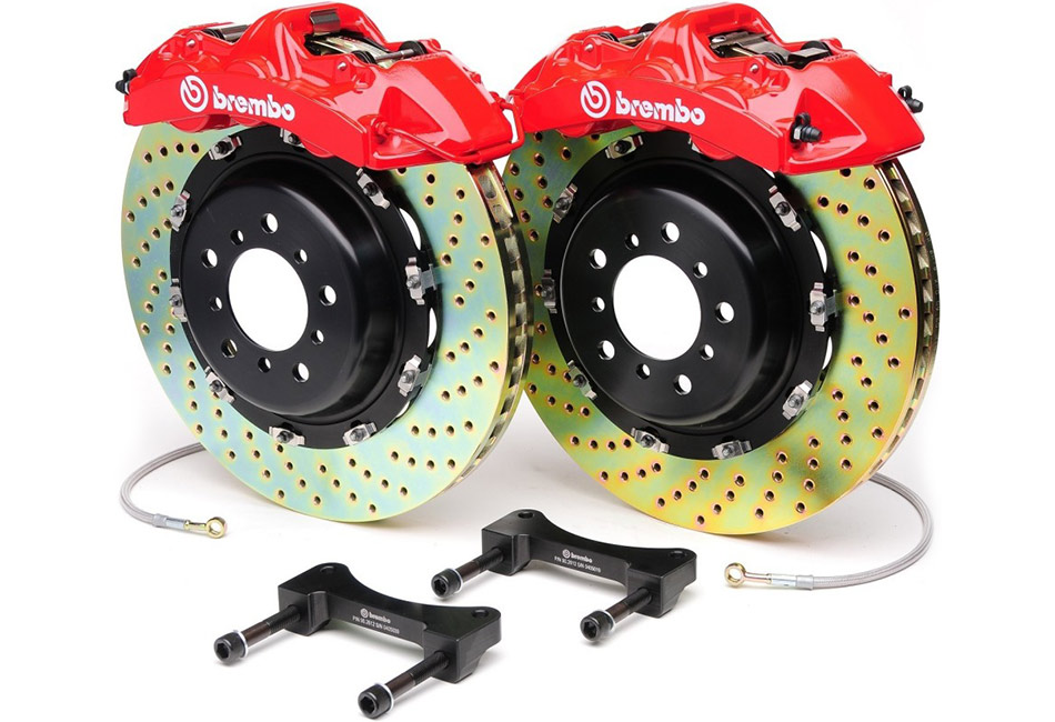 Brembo 6 Piston Red 14