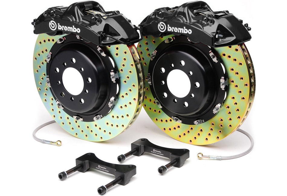 Brembo 6 Piston Black 14