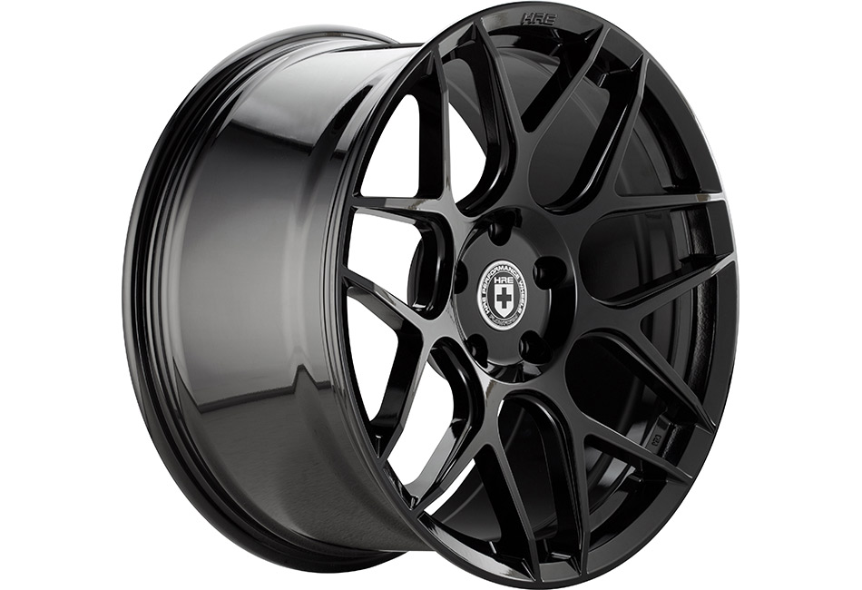 HRE FlowForm FF01 Liquid Black Mustang Wheel - 20x11 (2005-2021)