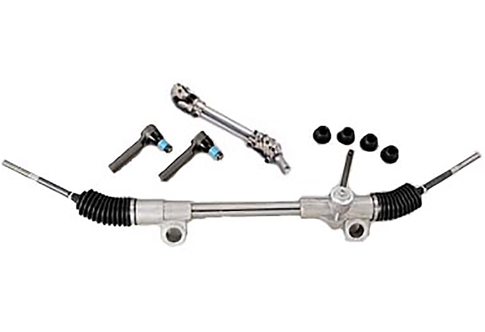 Flaming River Mustang Quick Ratio Manual Steering Rack (79-93)