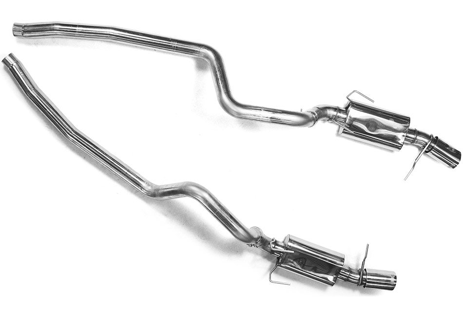 Kooks Mustang Cat-Back Exhaust (05-09 GT/07-12 GT500)