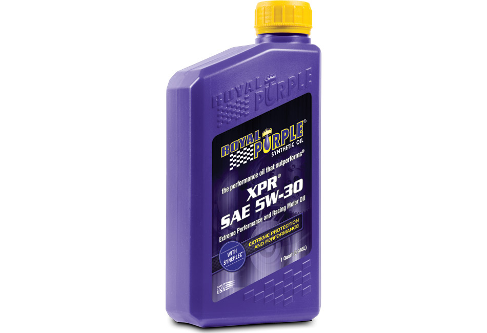 Royal Purple XPR 5W-30 Extreme Performance Racing Motor Oil