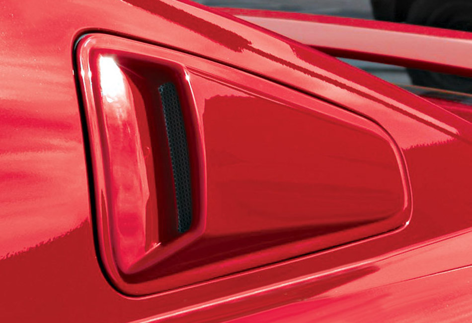 Razzi Mustang Quarter Window Scoops (2005-2009)