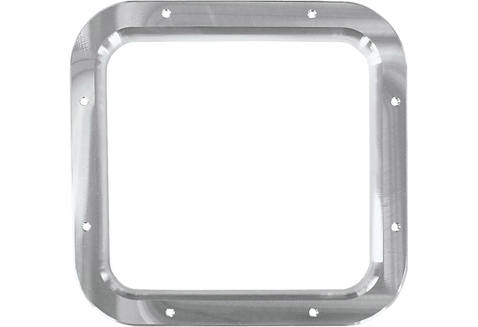 Steeda Mustang Shifter Bezel - Machined/No Logo (1987-1993)