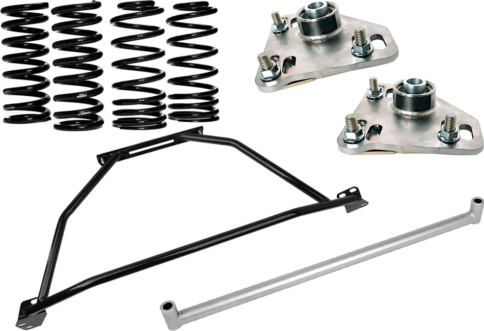 Steeda Mustang Coupe G/Trac Suspension Package - Stage 1 (1990-1993)