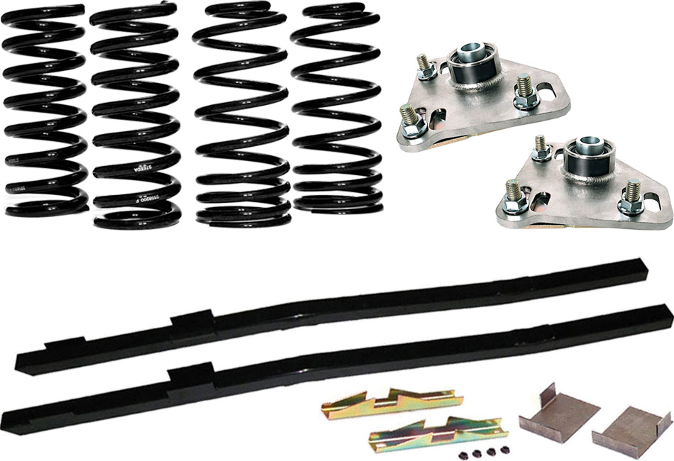 Steeda G/Trac Mustang Suspension Package - Stage 1 (94-04)