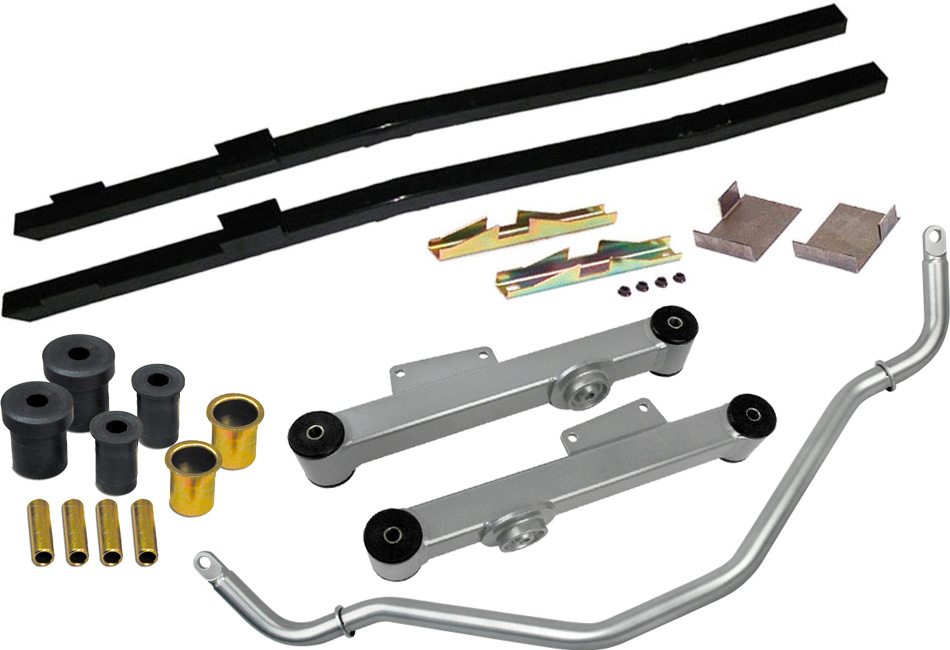 Steeda Mustang G/Trac Suspension Package - Stage 3 (1987-1993)