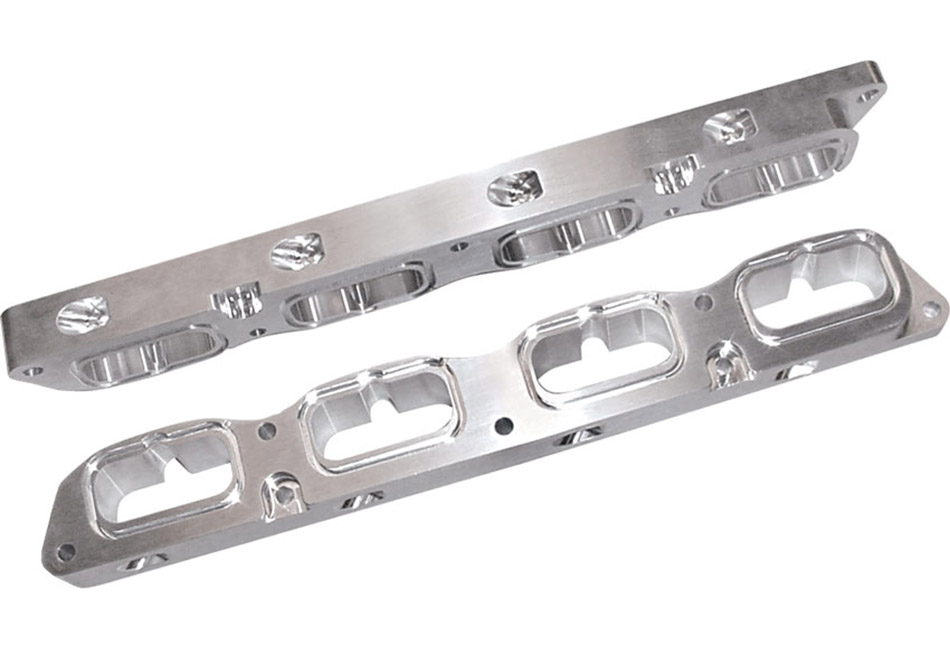 Steeda Billet Mustang Charge Motion Control Plates w/ Nitrous Ports (05-08)