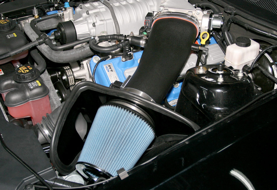 blue air filter replacement instructions