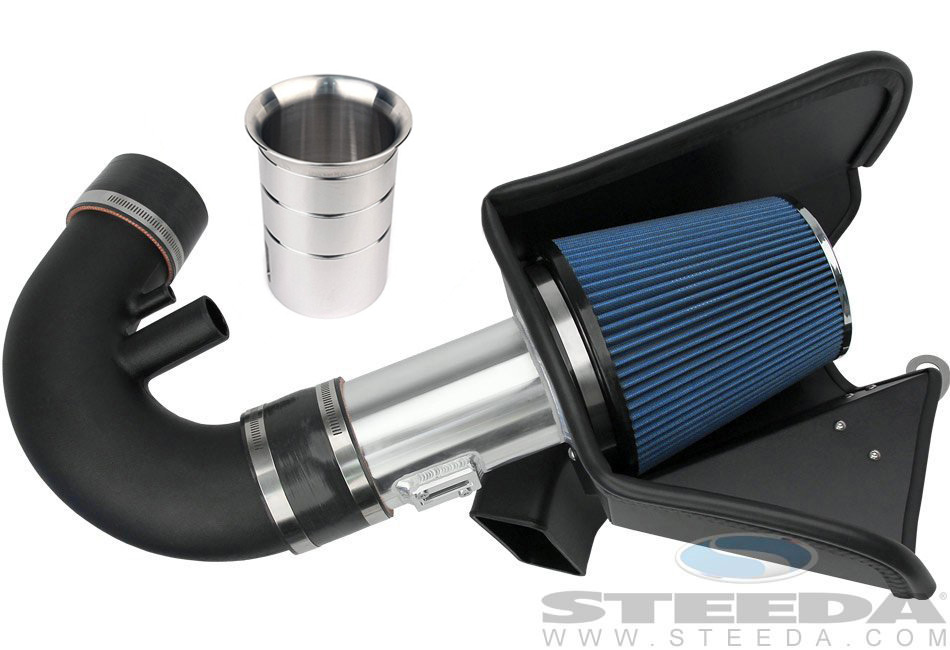 Steeda ProFlow Mustang Cold Air Intake Kit - Automatic GT, (11-14), No tune required!
