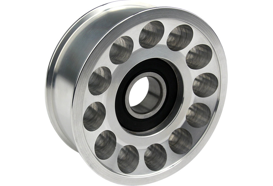 Steeda Fox Body Mustang Aluminum Tensioner Pulley - 5.0L (87-93)