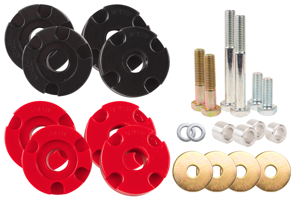 Steeda S550 Mustang Adjustable Differential Bushing Insert System - Urethane (2015-2019 GT)