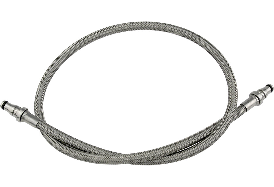 Steeda Focus ST Stainless Braided Hydraulic Clutch Line (2013-2018 ST & RS)