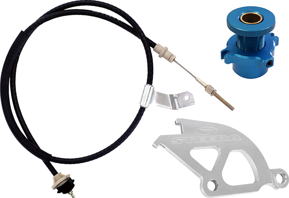 Steeda Mustang Non-Adjustable Clutch Cable Kit (83-95)