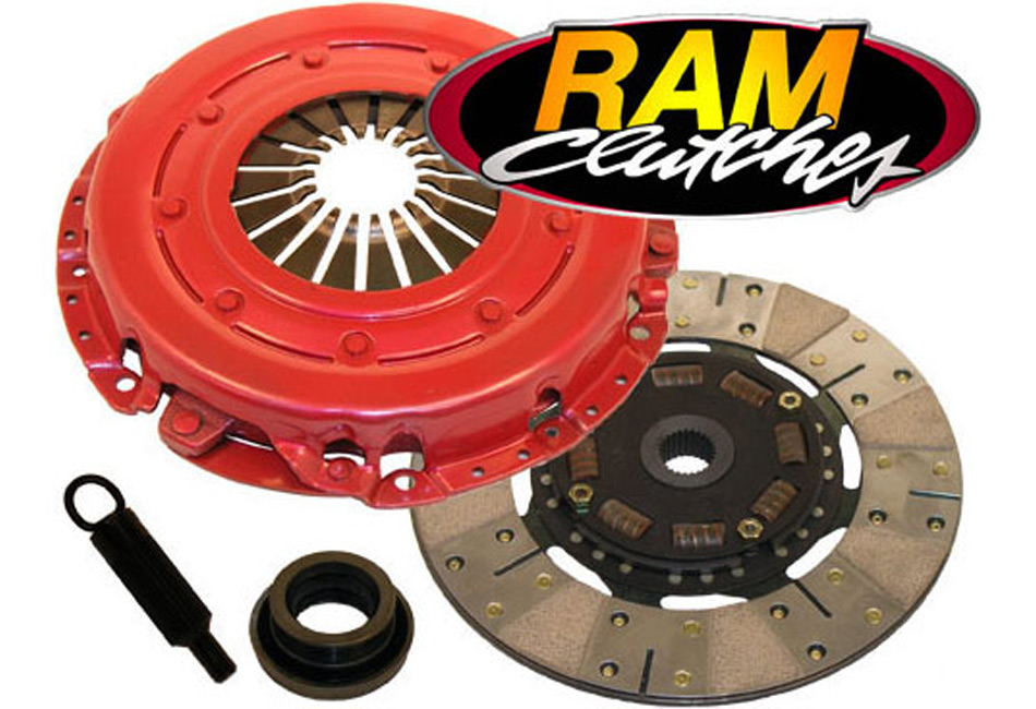 RAM Force 10.5 Mustang GT 26 Spline/6 Bolt Dual Disc Clutch Kit (05-10)