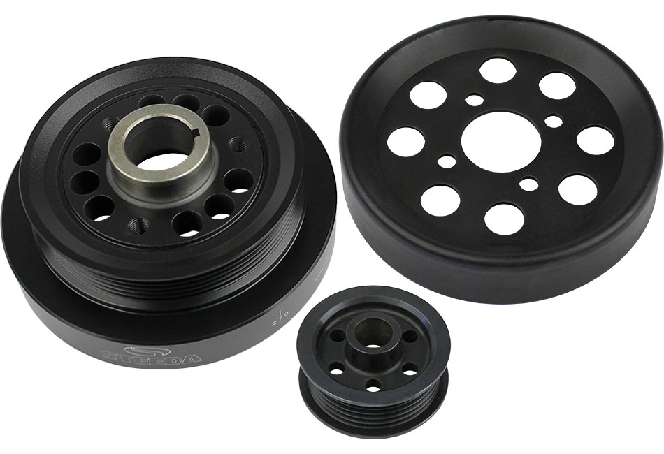 Steeda Underdrive Pulleys (01 Cobra, 03-04 Mach 1, 03-04 Marauder)