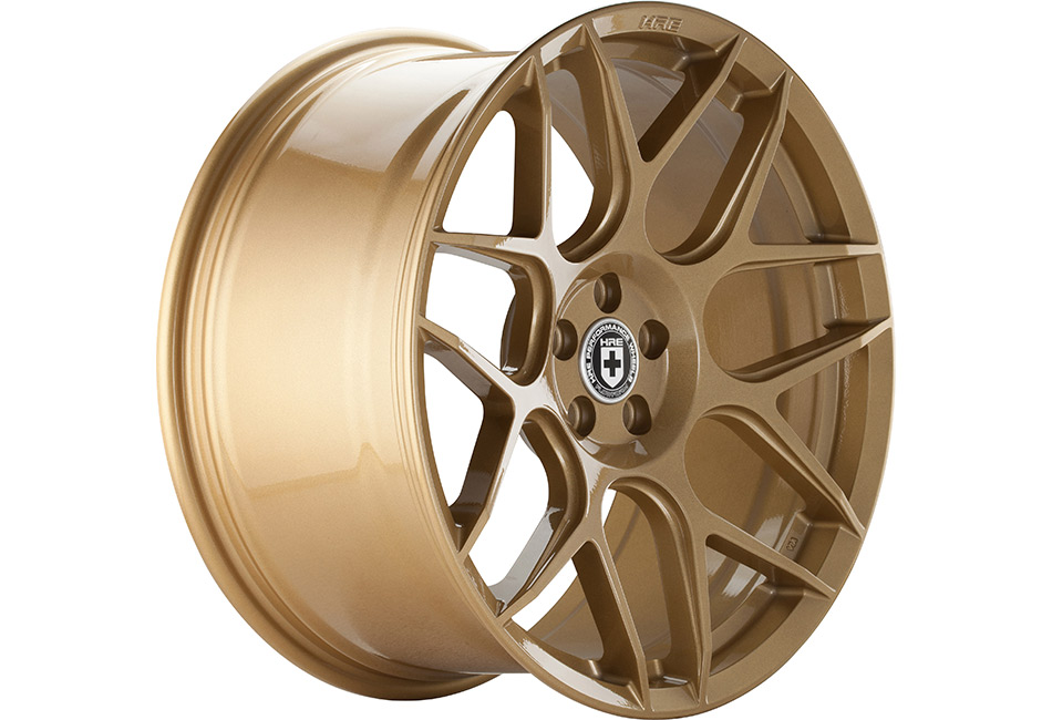 HRE FlowForm FF01 Gold Rush Mustang Wheel - 20x10.5 (2005-2021)