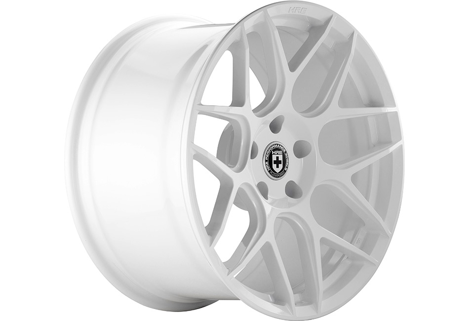 HRE FlowForm FF01 Great White Mustang Wheel - 20x9.5 (2005-2021)