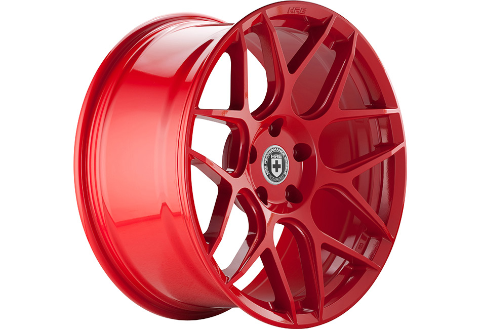 HRE FlowForm FF01 Red Line Mustang Wheel - 20x9.5 (2005-2021)