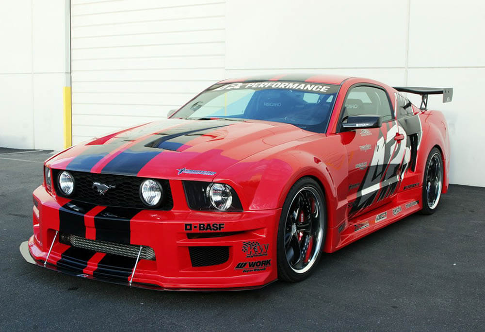 APR Performance Mustang GT-R Widebody Aerodynamic Kit (05-09)