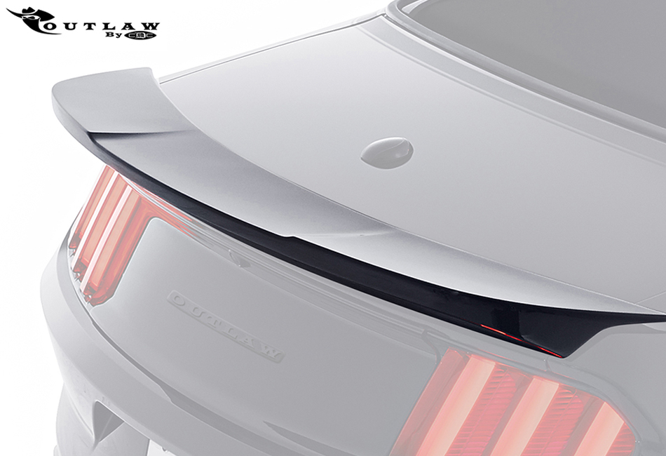 CDC Mustang Outlaw Rear Decklid Spoiler (2015)