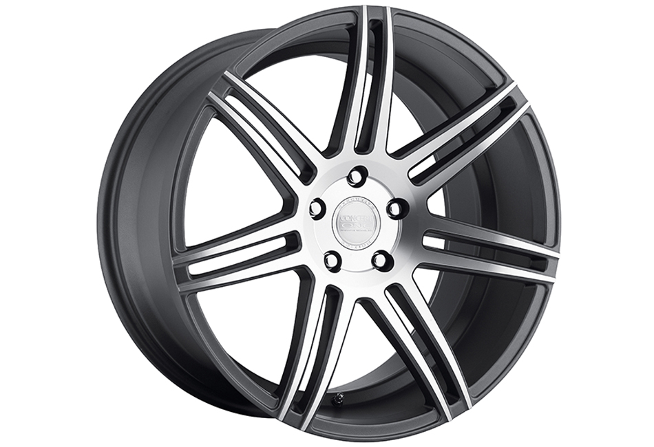 Concept One Wheels CSM-7 Matte Gunmetal Machined Wheel - 20x10.5 (05-15)