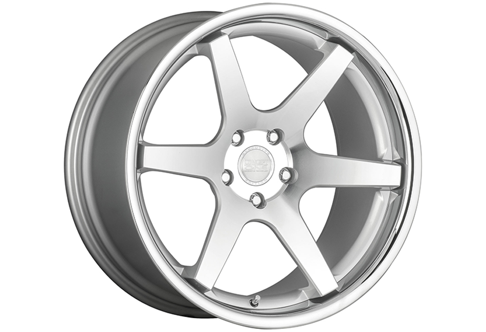 Concept One Wheels CS-6 Deep Concave Silver Machined Wheel - 20x10.5 (1994-2004)