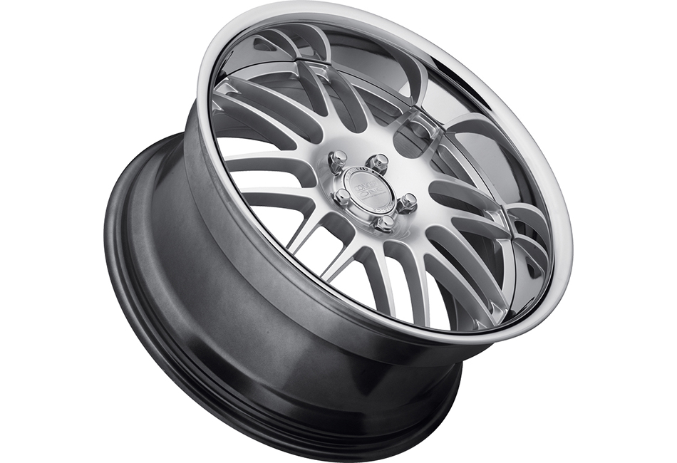 Concept One Wheels RS-8 Hyper Silver Executive Edition Wheel - 19x10.5 (94-04)