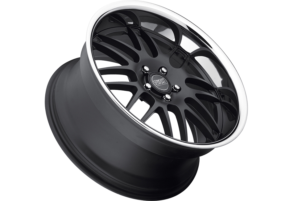 Concept One Wheels RS-8 Matte Black Executive Edition Wheel - 19x9.5 (05-10)
