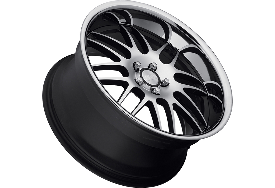 Concept One Wheels RS-8 Matte Black Machined Executive Edition Wheel - 19x8.5 (94-04)