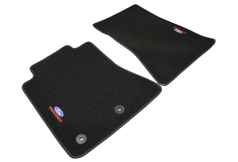 Ford Performance S550 Mustang Logo Floor Mats (15-17) DISCONTINUED