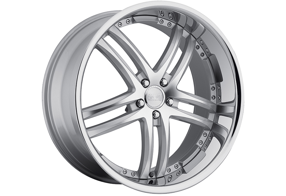 Concept One Wheels RS-55 Silver Machined Executive Edition Wheel - 20x10 (2005-2014)