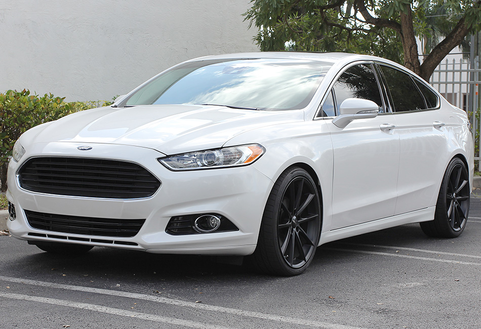 2015 Ford Fusion Rims >> Ace Alloy Black Convex Wheel - 20x8.5 (13-14), 629 20X8.5x38 D704 - Free Shipping - Steeda ...