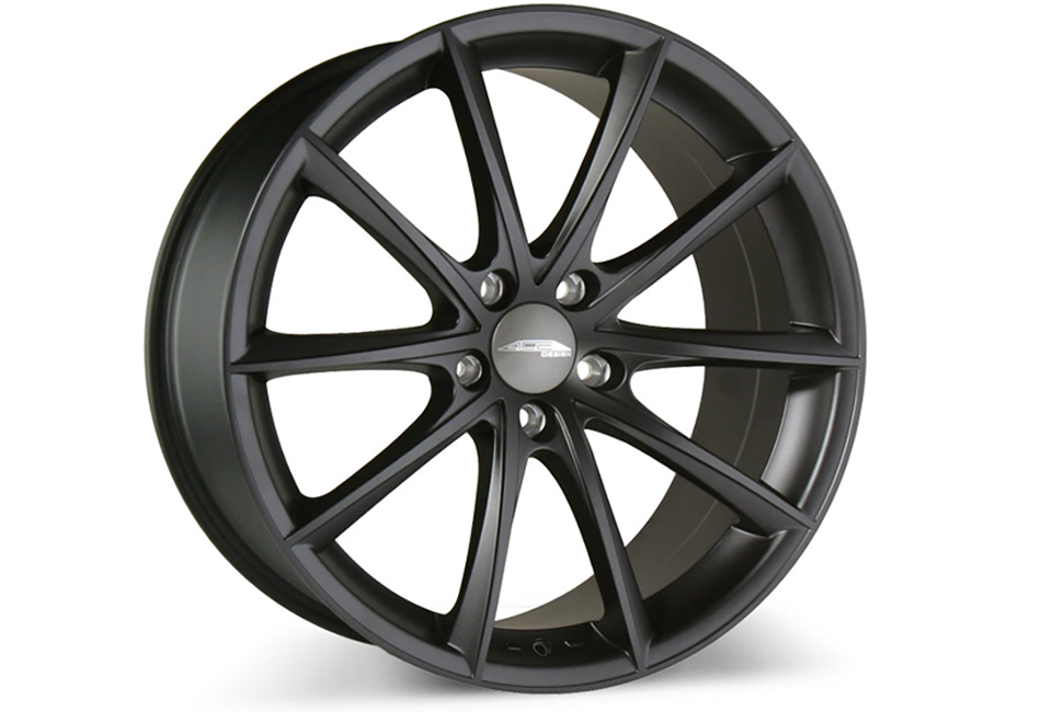 Ace Alloy Convex Matte Black Wheel 20x8.5 (05-19)