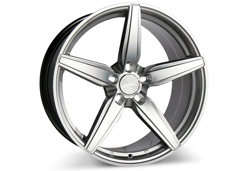 Ace Alloy Couture Hypersilver Machined Wheel 20x10 (2005-2021)