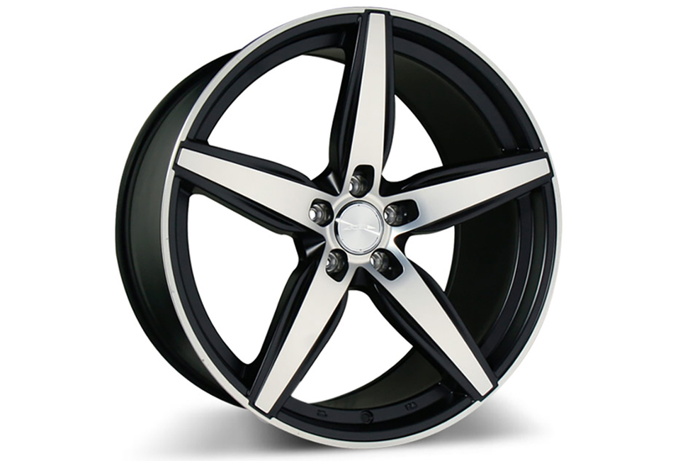 Ace Alloy Couture Matte Black Machined Wheel 19x10 (05-20)