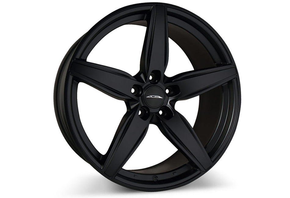 Ace Alloy Couture Matte Black Wheel 20x10 (2005-2021)