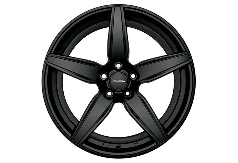 Ace Alloy Couture Matte Black Wheel 19x8.5 (05-19)