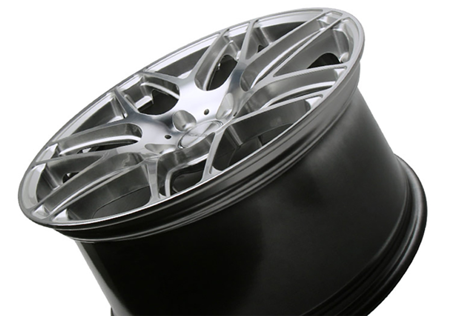Ace Alloy Mesh-7 Hypersilver Machined Wheel 19x10 (05-19)
