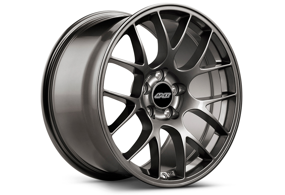 APEX EC-7 18x11 ET52 Mustang Anthracite Wheel (05-17)