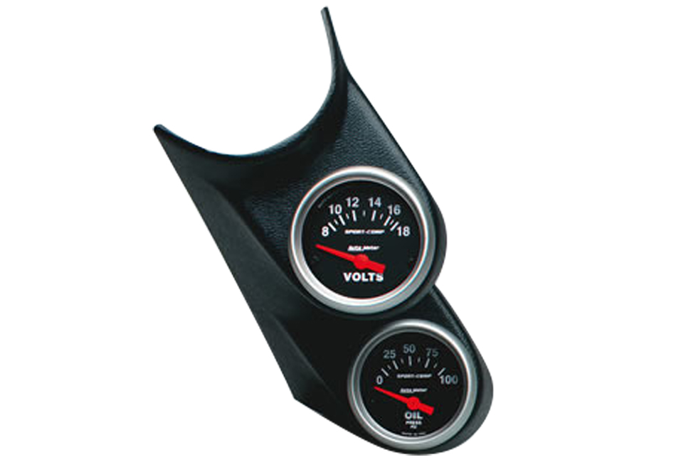 Autometer Focus Dual Gauge Pod (00-04 All)
