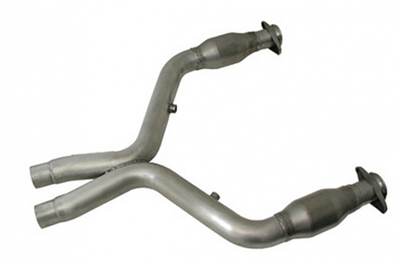 BBK Catted Mustang X-Pipe - for use w/ Long Tube Headers (07-10 GT500) Discontinued
