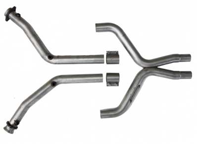 BBK Mustang High-Flow Full Length X-Pipe (11-14 V6)