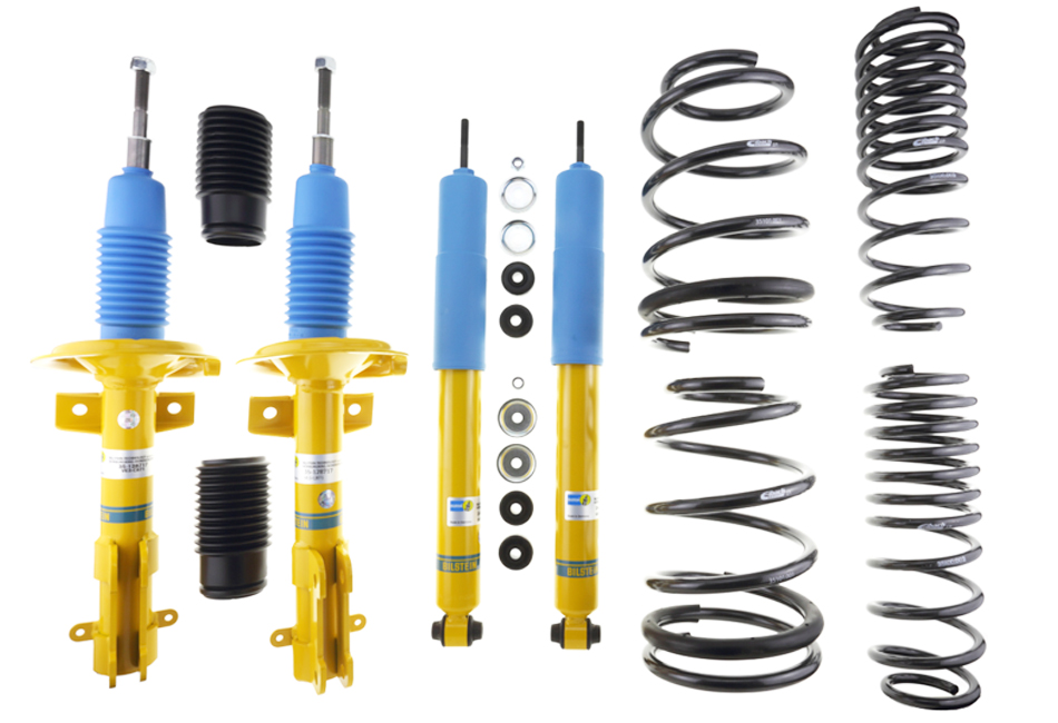 Bilstein Mustang B12 Shock & Strut Series Pro-Kit Lowering Spring Kit (05-09 V6)