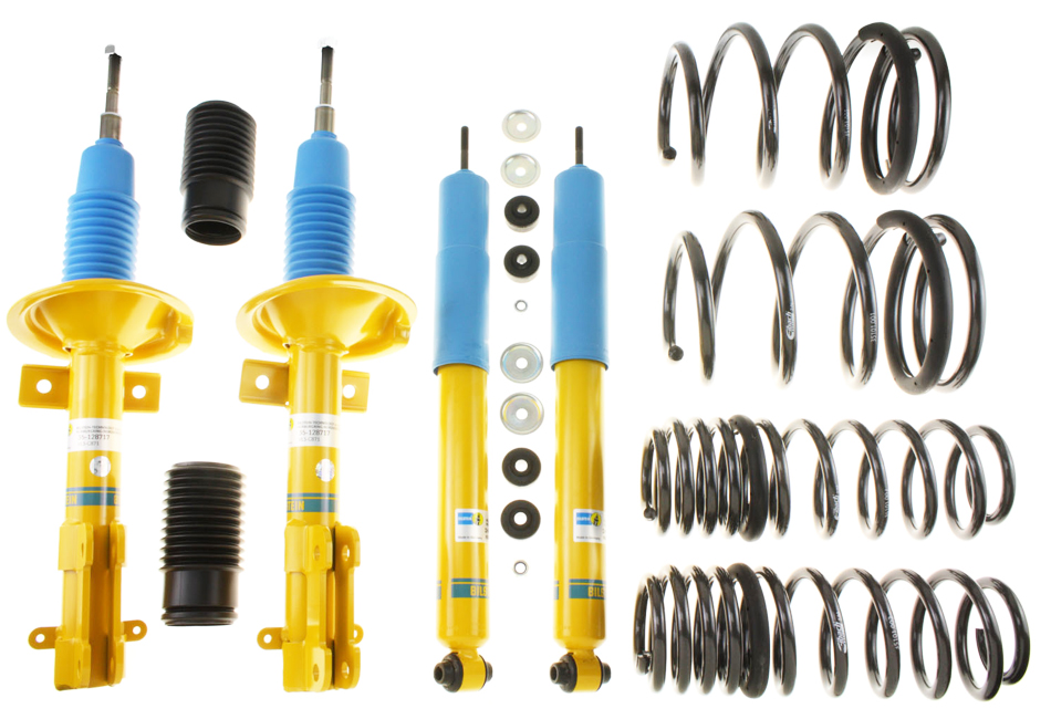 Bilstein Mustang B12 Shock & Strut Series Pro-Kit Lowering Spring Kit (05-10 GT)