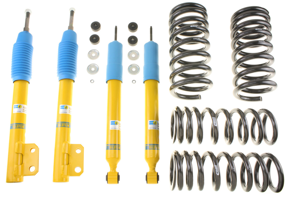 Bilstein Mustang B12 Shock & Strut Series Pro-Kit Lowering Spring Kit (99-01 Cobra)