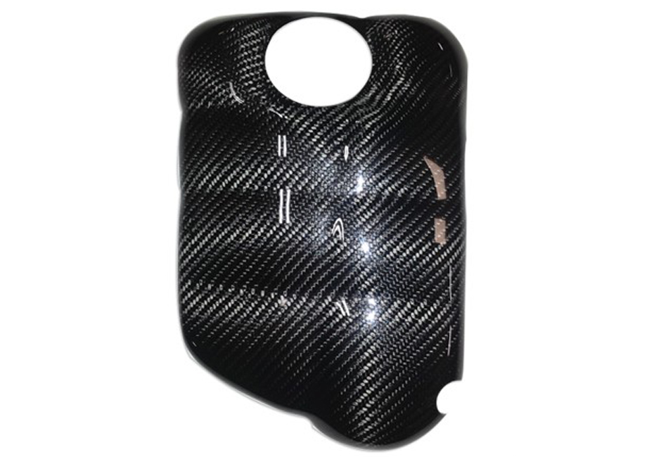 California Pony Cars Focus Carbon Fiber Coolant Tank Cover (12-18 All)