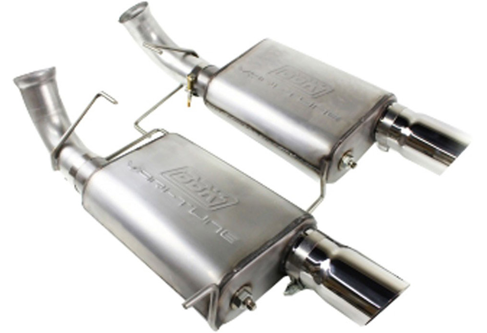 BBK Varitune Mustang Axle-Back Exhaust Stainless Steel (05-10 GT)