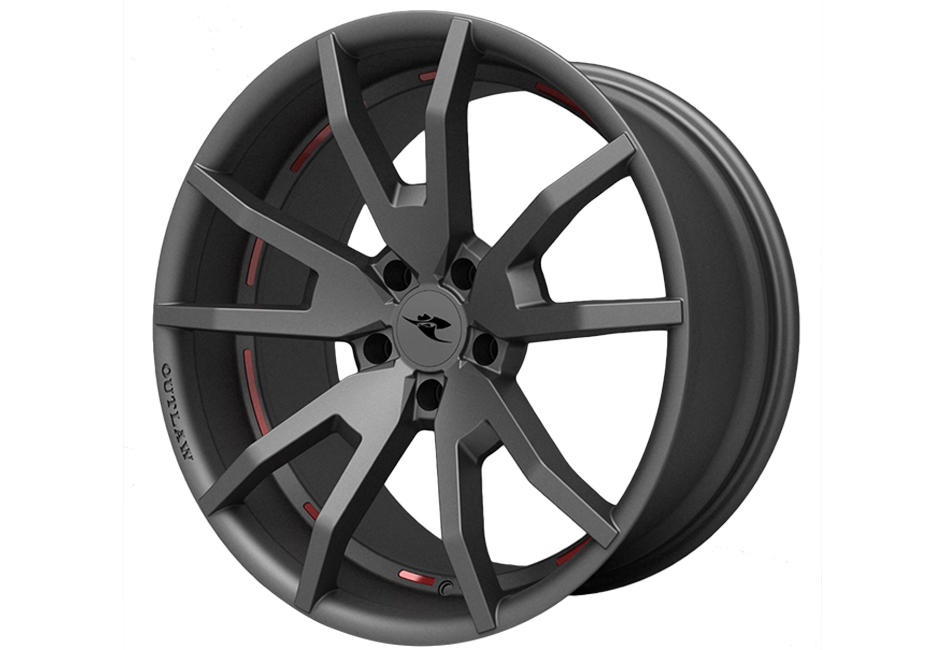 Classic Design Concepts Mustang Wheel Outlaw Dark Gray Satin 20x10 (2015-2021)