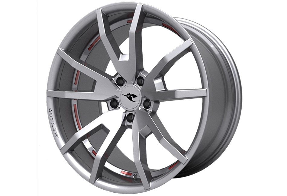 Classic Design Concepts Mustang Outlaw Wheel Silver 20x10 (2015-2021)